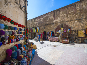 Africa, Morocco, Essaouira, Old Town, City wall Bani Antar aの写真素材 [FYI04334643]