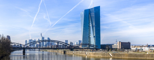 Germany, Frankfurt on the Main, The new European Central Banの写真素材 [FYI04334657]