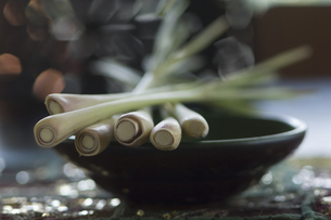 Lemon grass on bowlの写真素材 [FYI04334828]