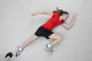 Running womanの写真素材 [FYI04335261]