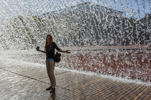Portugal, Lisbon, Olivais, Parque das Nacoes, Oceanario de Lの写真素材 [FYI04335433]