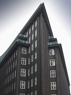 Germany, Hamburg, View of Chile Houseの写真素材 [FYI04335687]