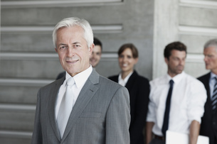 Confident businessman, portraitの写真素材 [FYI04335775]