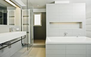 Modern bathroomの写真素材 [FYI04335877]