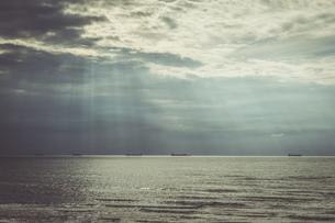 Ships on the seaの写真素材 [FYI04336105]