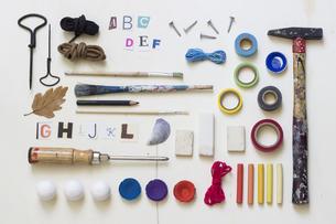 DIY utensils for tinkeringの写真素材 [FYI04336175]
