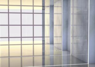 Empty room, 3D Renderingのイラスト素材 [FYI04336181]