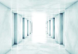 Corridor, 3D Renderingのイラスト素材 [FYI04336184]