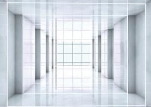 Empty room, 3D Renderingのイラスト素材 [FYI04336189]