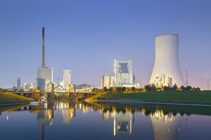 Germany, View of coal power plantの写真素材 [FYI04336221]