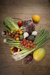 Fresh Mediterranean vegetablesの写真素材 [FYI04336488]
