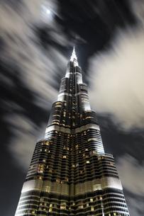 United Arab Emirates, Dubai, Burj Khalifaの写真素材 [FYI04336739]
