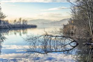 Austria, Carinthia, Klagenfurt, Woertherseeの写真素材 [FYI04336740]