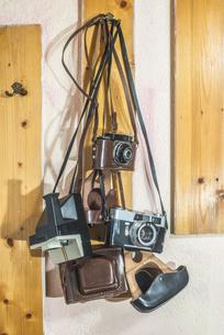 Vintage camerasの写真素材 [FYI04336803]