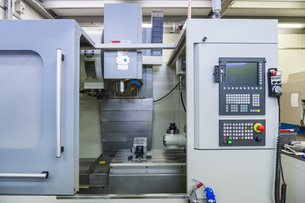 Milling machine for tool-makingの写真素材 [FYI04336944]