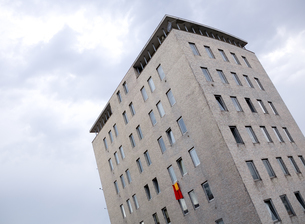 Italy, Province of Trieste, Trieste, High rise residential bの写真素材 [FYI04337402]