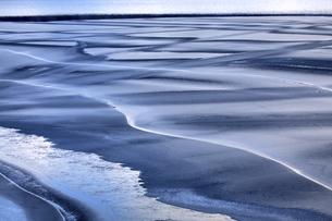 Norway, Telemark, Tinnsja lake in winterの写真素材 [FYI04337754]