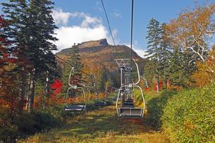 9月 紅葉の黒岳 -大雪山の秋-の写真素材 [FYI04338159]