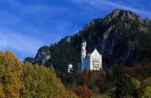 Castle Neuschwanstein, Bavaria, Germanyの写真素材 [FYI04338384]