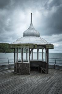 Great Britain, Wales, Gwynedd, Bangor, Pierの写真素材 [FYI04338405]