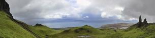 UK, Scotland, Hills on Isle of Skyeの写真素材 [FYI04338746]