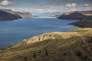 Canada, British Columbia, Summer at Kamloops Lakeの写真素材 [FYI04338846]