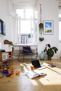 Apartment in sunlightの写真素材 [FYI04339330]