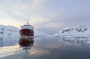 South Atlantic Ocean, Antarctica, Antarctic Peninsula, Gerlaの写真素材 [FYI04340146]