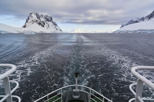 South Atlantic Ocean, Antarctica, Antarctic Peninsula, Lemaiの写真素材 [FYI04340148]