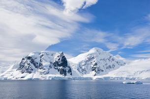 South Atlantic Ocean, Antarctica, Antarctic Peninsula, Gerlaの写真素材 [FYI04340155]