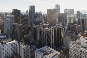 Canada, British Columbia, Vancouver, View of skyscrapersの写真素材 [FYI04340274]