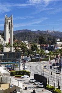 USA, California, Los Angeles, Hollywood, Hollywood Boulevardの写真素材 [FYI04340326]
