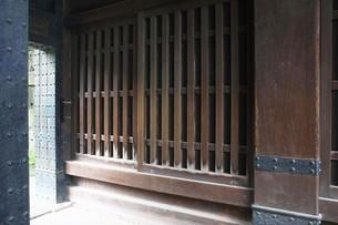 皇居・清水門渡櫓の収納庫の写真素材 [FYI04340482]
