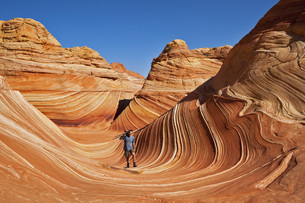 USA, Utah, North Coyote Buttes, Cliffs National Monumentの写真素材 [FYI04340897]