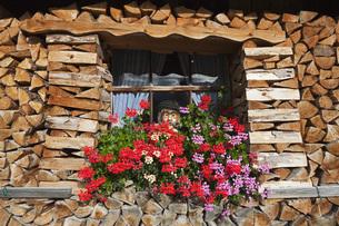 Germany, Bavaria, Man figurine standing in window, full framの写真素材 [FYI04340934]