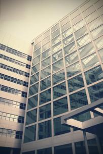Netherlands, The Hague, facade of office buildingの写真素材 [FYI04341444]