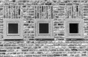 Germany, North Rhine-Westphalia, Grevenbroich, part of brickの写真素材 [FYI04341592]