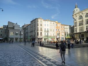 France, Haute-Garonne, Toulouse, public placeの写真素材 [FYI04341697]