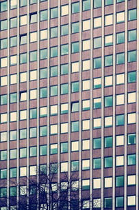 Germany, Dortmund, facade of an office buildingの写真素材 [FYI04341944]