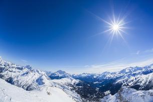 Italian Alps in winterの写真素材 [FYI04342265]