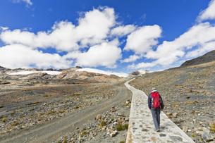 Peru, Andes, Cordillera Blanca, Huascaran National Park, touの写真素材 [FYI04343095]