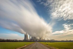Germany, Bergheim-Niederaussem, Niederaussem Power Stationの写真素材 [FYI04343148]