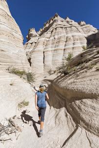 USA, New Mexico, Pajarito Plateau, Sandoval County, Kasha-Kaの写真素材 [FYI04343259]