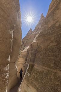 USA, New Mexico, Pajarito Plateau, Sandoval County, Kasha-Kaの写真素材 [FYI04343262]