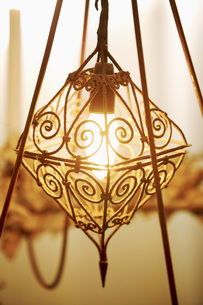 Oriental style lampの写真素材 [FYI04343488]