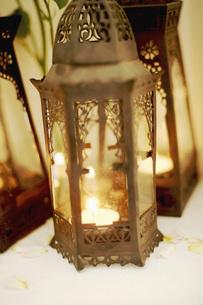 Arabian hand lamps, close-upの写真素材 [FYI04343490]