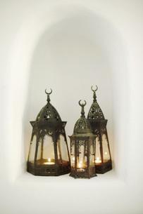 Arabian hand lampsの写真素材 [FYI04343491]