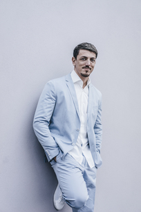 Portrait of confident businessmanの写真素材 [FYI04345367]