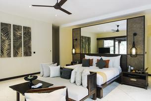 Indonesia, Bali, hotel roomの写真素材 [FYI04345540]