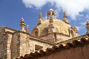 South America, Peru, Puno, Church Santiago de Pupujaの写真素材 [FYI04345943]